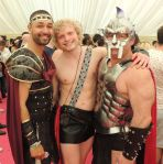 Out In Brum - Pride 2015 - Well Dressed Roman Centurians