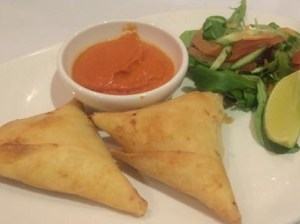 Out In Brum - Umami Indian Restaurant and Cocktail Bar - Vegetable Samosa