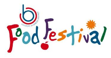 Out In Brum - Colmore Food Festival 2015 Logo