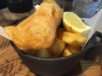 Out In Brum - Gas Street Social - Fish and Chips