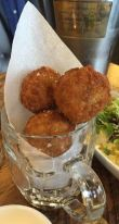 Out In Brum - Gas Street Social - Food Arancini