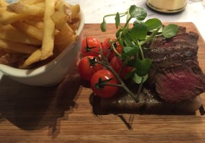 Out In Brum - Harvey Nichols - Fillet Steak