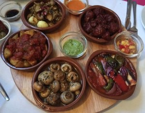 Out In Brum - Rico Libre - Tapas Plates