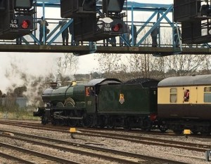 Out In Brum - Vintage Trains - Locomotive and Coach