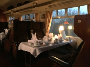 Out In Brum - Vintage Trains - Table