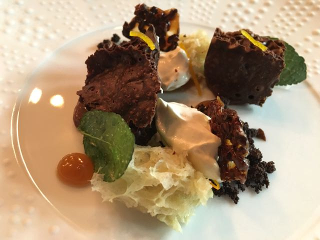 Out In Brum - Adams Restaurant - Aerated Chocolate