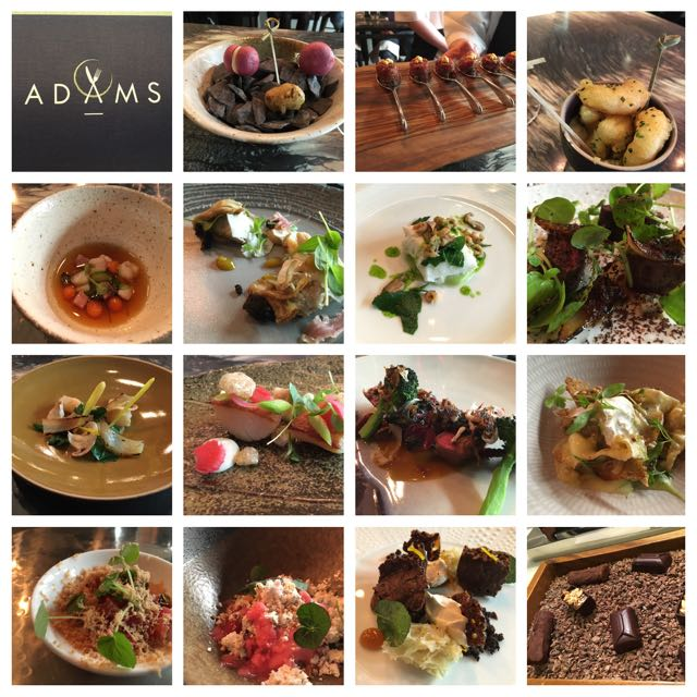 Out In Brum - Adams Restaurant - Montage
