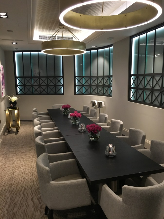 Out In Brum - Adams Restaurant - Private Dining Room