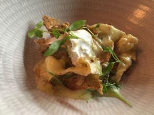 Out In Brum - Adams Restaurant - Tunworth Cheese and Cauliflower