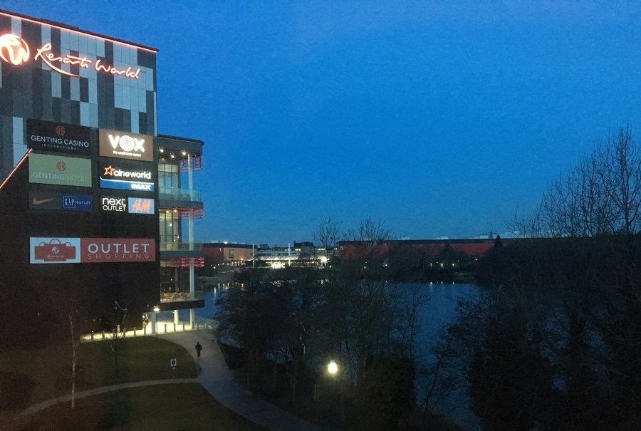 Out In Brum - Resorts World - Lake