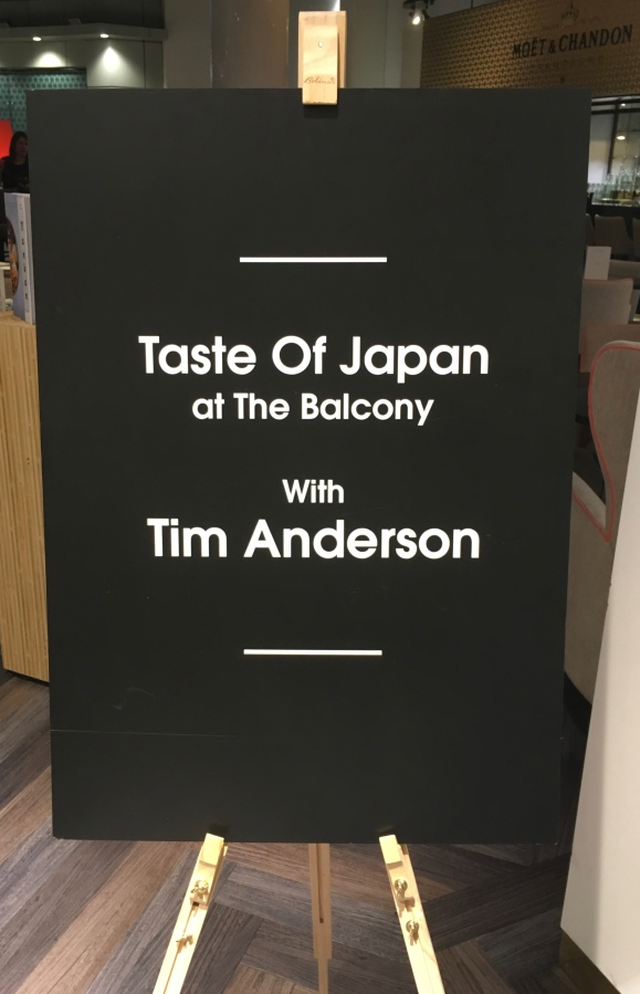 Out In Brum - Tim Anderson - Intro Board