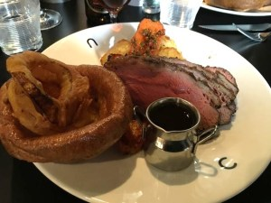 Out In Brum - CAU - Sunday Roast Beef