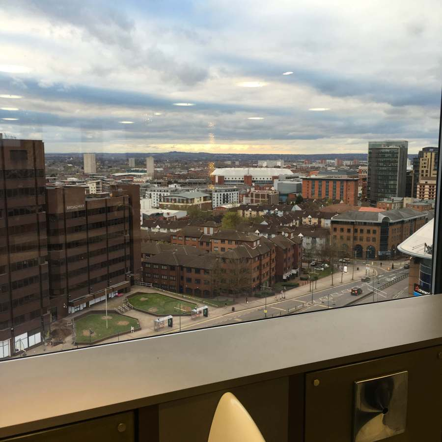Out In Brum - Rofuto - View from Urinal