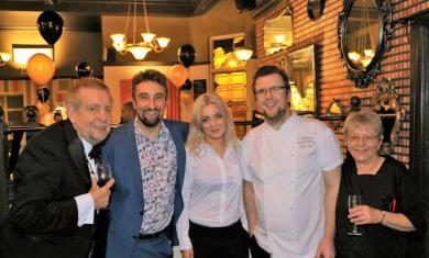 Out In Brum - Chef Eades Charity Pop-Up - Group Shot