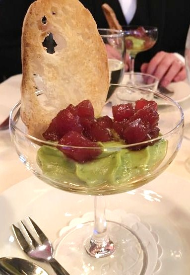 Out In Brum - Chef Eades Charity Pop-Up - tuna Tartare