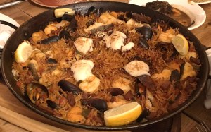 Out In Brum - El Borracho De Oro - Fideuà de Marisco, Sea food Catalan Noodle dish