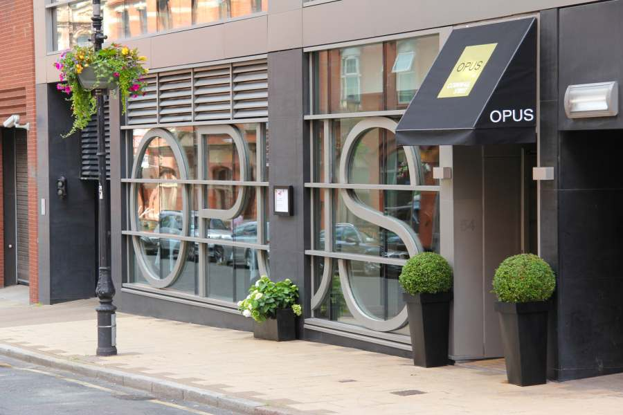 Out In Brum - Opus Restaurant Friday Night Deal - Exterior