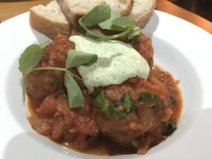 Out In Brum - Peel and Stone Harborne - Meatballs