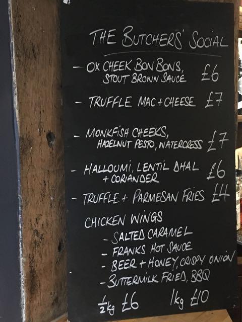Out In Brum - Butchers Social Henley-in-Arden - Blackboard