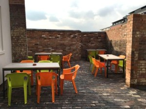 Out In Brum - Pig & Tail - Courtyard