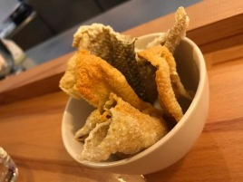 Out In Brum - Harborne Kitchen - Salmon Skin Quavers