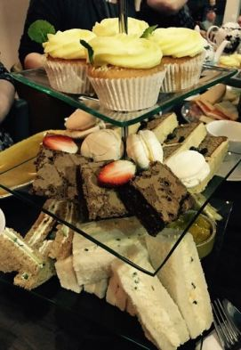 Sweets and Sandwiches at Bar Opus Afternoon Tea