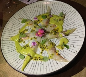 Out In Brum - Rofuto - Sea Bass Sashimi