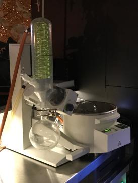 Out In Brum - The Edgbaston - Rotary Distillation Machine