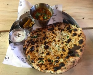 Out In Brum - Indian Brewery Company - Amritsari Kulcha