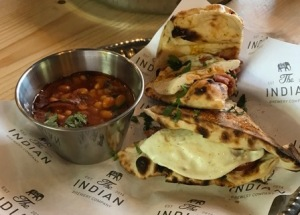 Out In Brum - Indian Brewery Company - Breakfast Naan Bacon Egg
