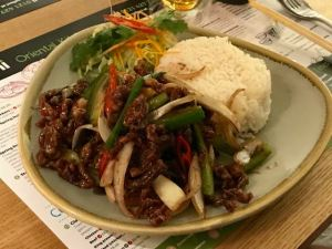 Out In Brum - Wok Chi - Crispy Beef