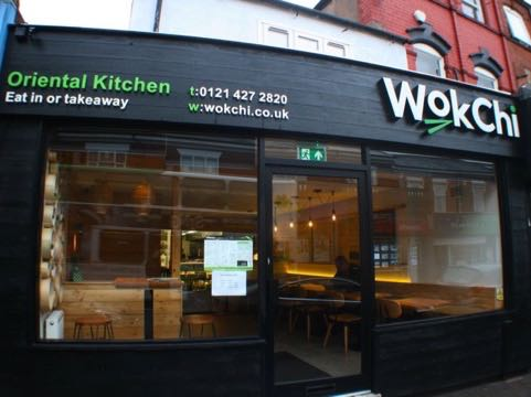 Out In Brum - Wok Chi - Exterior