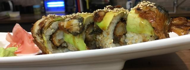 Out In Brum - Otoro Sushi - Dragon Rolls