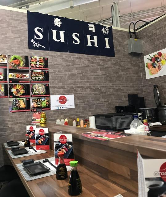 Out In Brum - Otoro Sushi - Interior
