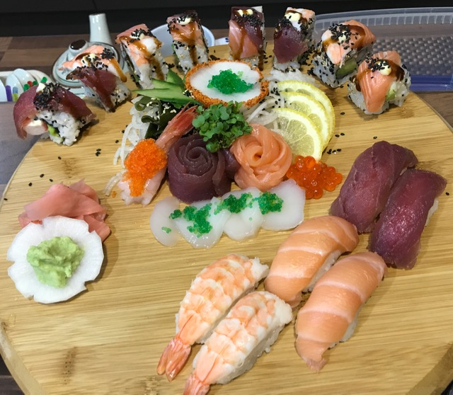 Out In Brum - Otoro Sushi - Sharer Board