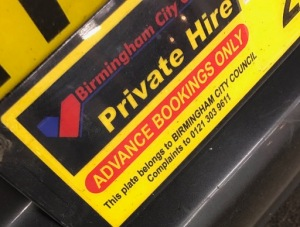 Out In Brum - Taxi Cop - Advance Bookings Only