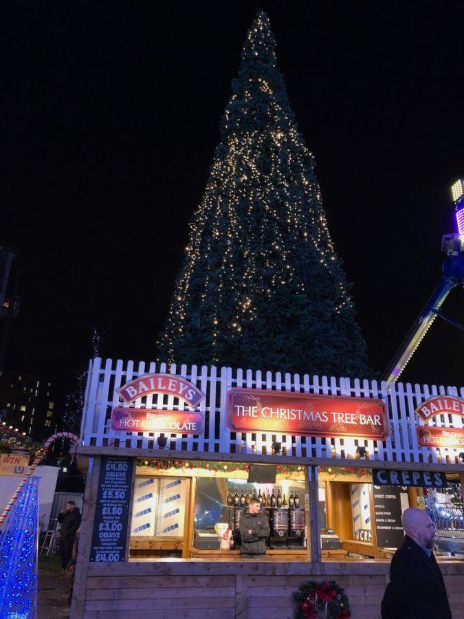 Out In Brum - East Side Skate Birmingham - Christmas Tree Bar