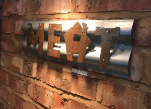 Out In Brum - Meat Shack - Sign
