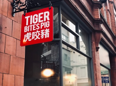 out in brum - tiger bites pig - exterior