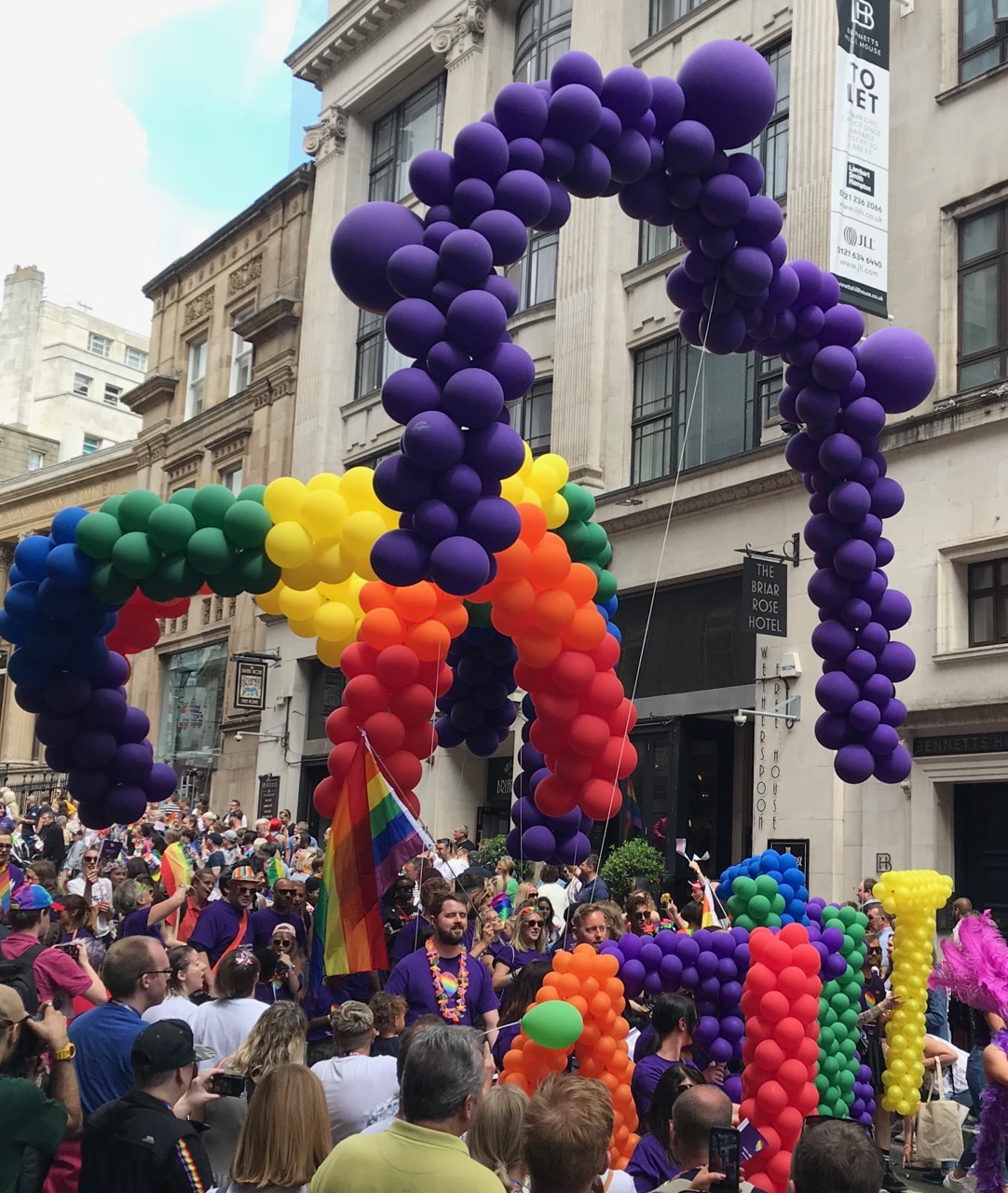 Out In Brum - Birmingham Pride 2019 - 110 - NASUWT Balloons, I think