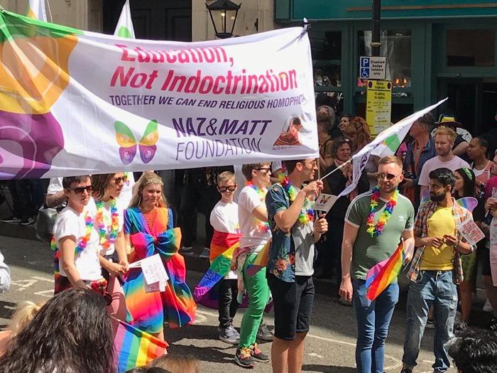 Out In Brum - Birmingham Pride 2019 - 13 - Naz & Matt Foundation