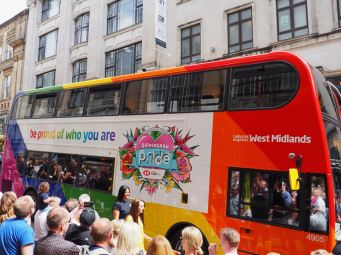 Out In Brum - National Express 2019 Pride Bus