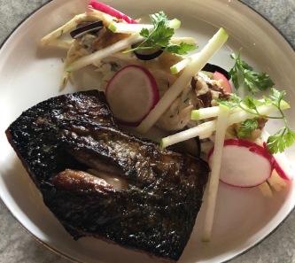 Out In Brum - The Bracebridge - Waldorf Salad with Mackerel